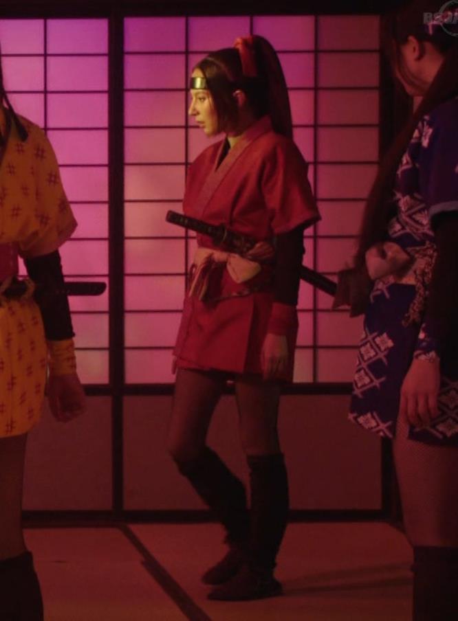 ベッキー 入浴シーン!!BSの変な時代劇キャプ・エロ画像12