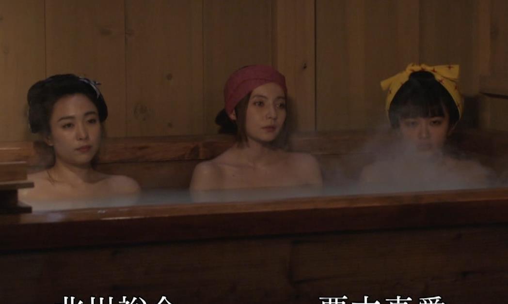 ベッキー 入浴シーン!!BSの変な時代劇キャプ・エロ画像16