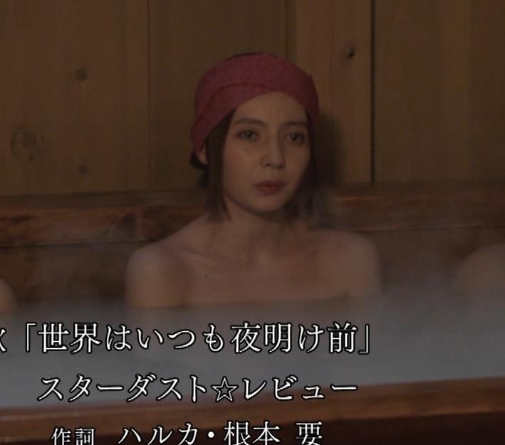 ベッキー 入浴シーン!!BSの変な時代劇キャプ・エロ画像18