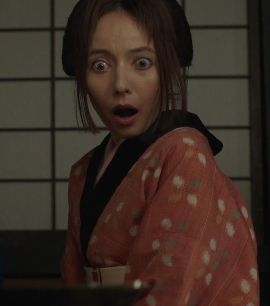 ベッキー 入浴シーン!!BSの変な時代劇キャプ・エロ画像3