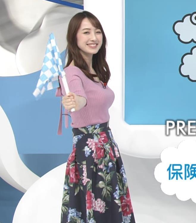 團遥香 朝から刺激の強いデカ乳を見せてくれるキャプ・エロ画像4