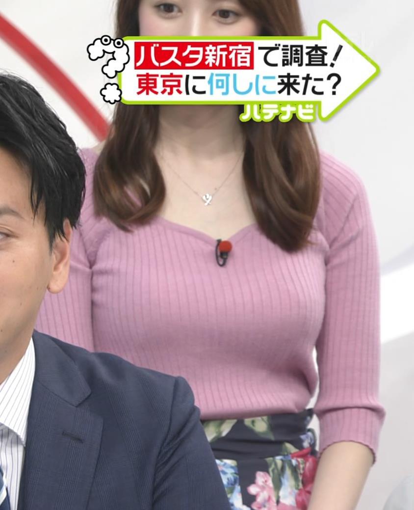 團遥香 朝から刺激の強いデカ乳を見せてくれるキャプ・エロ画像5