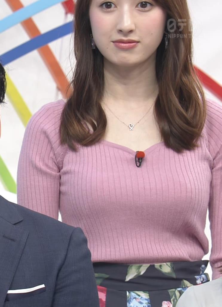 團遥香 朝から刺激の強いデカ乳を見せてくれるキャプ・エロ画像6