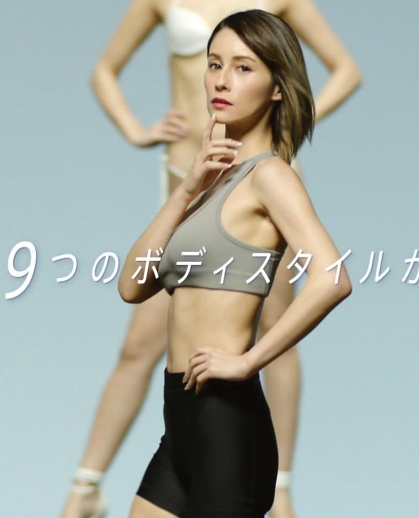ダレノガレ明美 ライザップのエロCMキャプ・エロ画像11