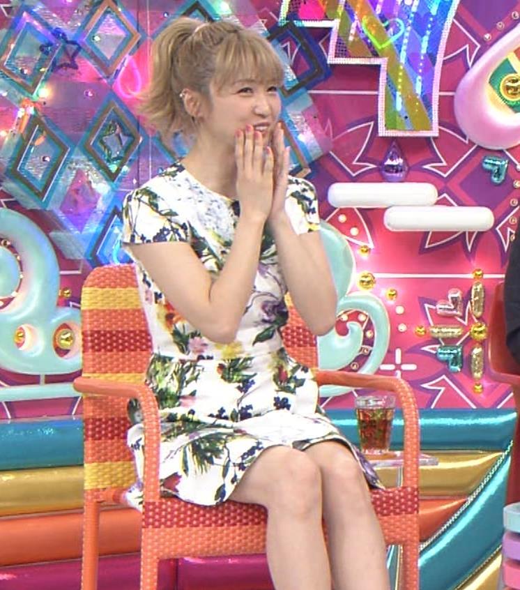 Dream Ami ミニスカ生足。かわいいポニーテールキャプ・エロ画像7