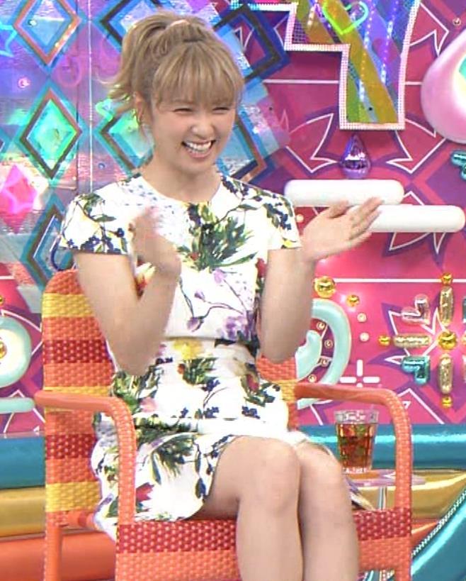 Dream Ami ミニスカ生足。かわいいポニーテールキャプ・エロ画像9