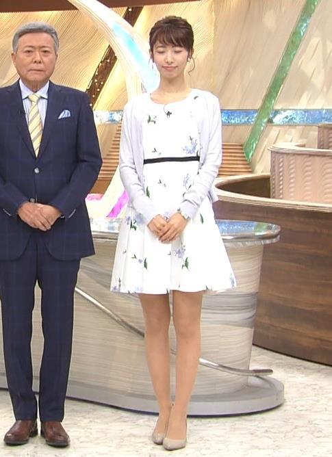 海老原優香アナ 女子アナにしては短いミニスカートキャプ・エロ画像5