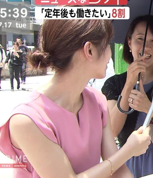 海老原優香アナ ニットちっぱいキャプ・エロ画像9