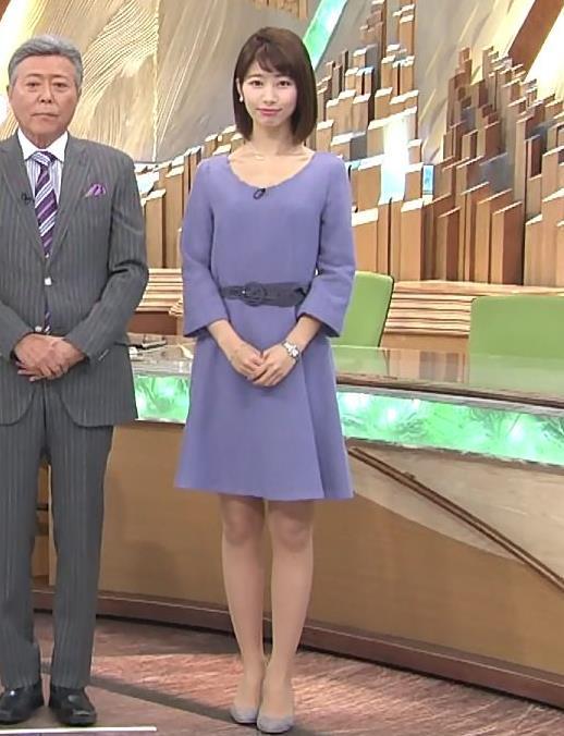 海老原優香アナ お辞儀で胸元がちょっとエロキャプ・エロ画像2