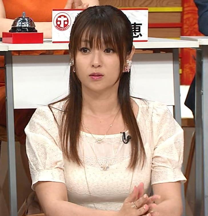 深田恭子 ムチムチ・パツパツのおっぱいキャプ・エロ画像6