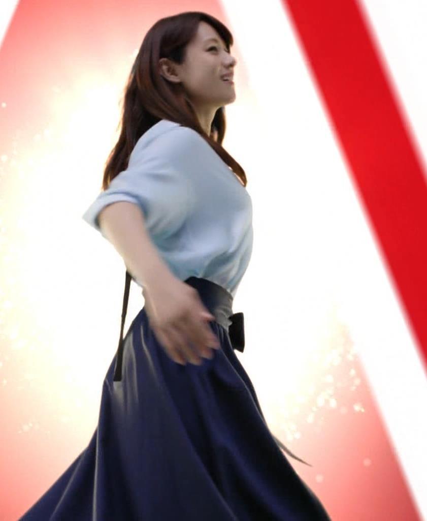 深田恭子 アリナミンのCMっておっぱい突き出しててエロいキャプ・エロ画像6