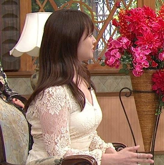 深田恭子 胸の谷間見せムチムチ衣装キャプ・エロ画像