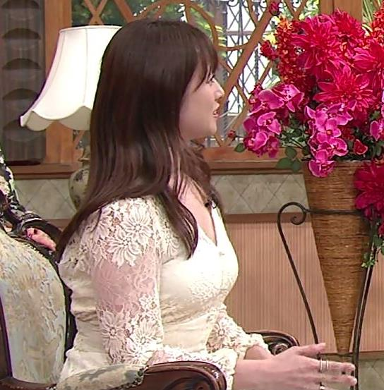 深田恭子 胸の谷間見せムチムチ衣装キャプ・エロ画像5