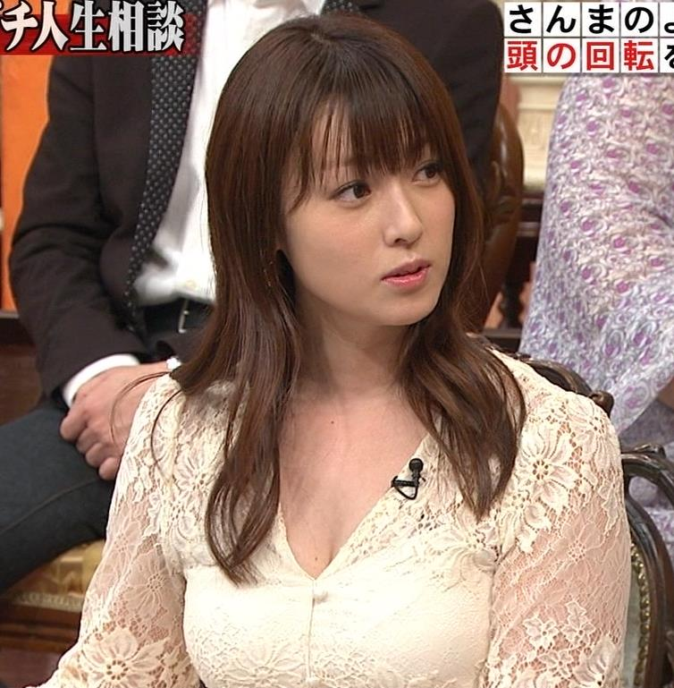深田恭子 胸の谷間見せムチムチ衣装キャプ・エロ画像6