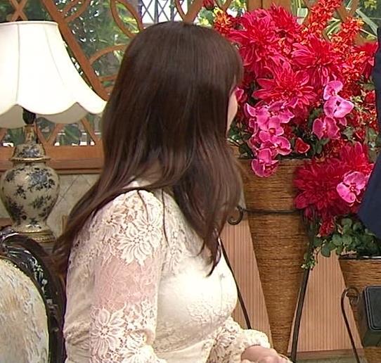 深田恭子 胸の谷間見せムチムチ衣装キャプ・エロ画像7