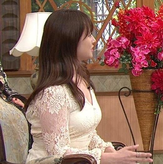 深田恭子 胸の谷間見せムチムチ衣装キャプ画像(エロ・アイコラ画像)