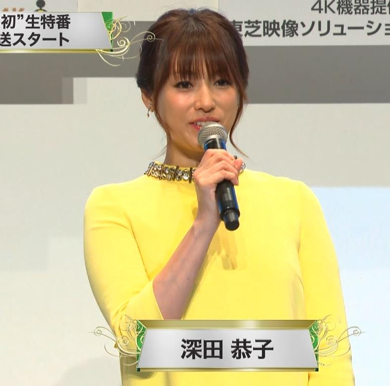 深田恭子 やっぱり乳がでかいキャプ・エロ画像