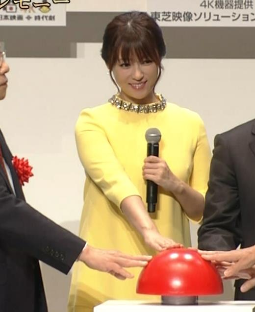 深田恭子 やっぱり乳がでかいキャプ・エロ画像4