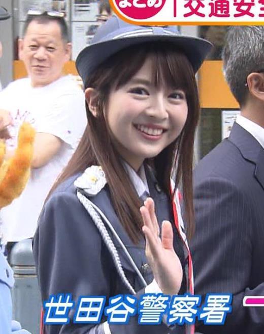 福田成美 かわいい一日警察署長キャプ画像(エロ・アイコラ画像)