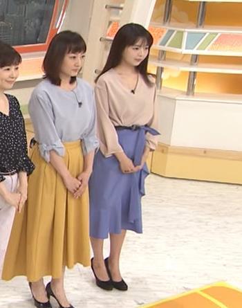 福田成美アナ 胸元がエロいお辞儀キャプ・エロ画像