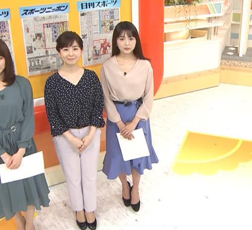 福田成美アナ 胸元がエロいお辞儀キャプ・エロ画像5