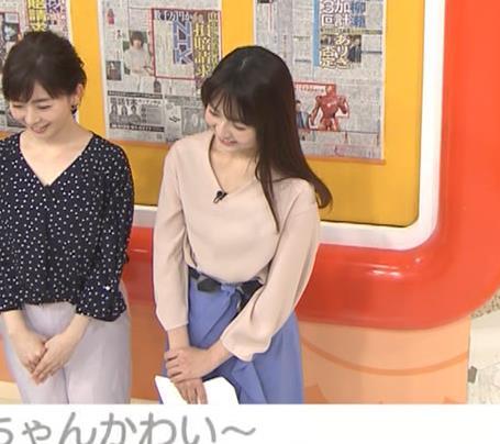 福田成美アナ 胸元がエロいお辞儀キャプ・エロ画像6