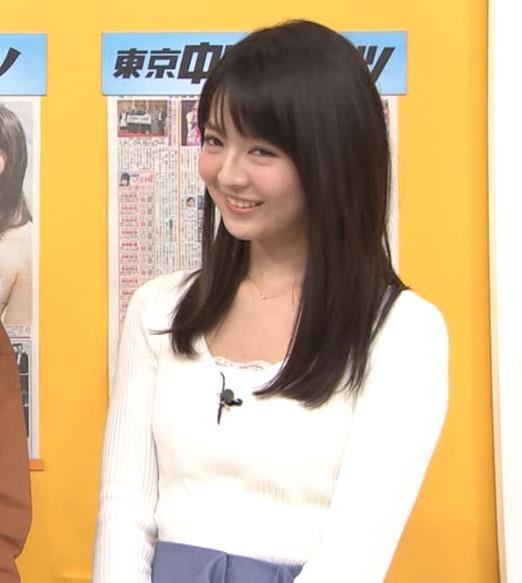福田成美 お辞儀の胸元がエロいキャプ・エロ画像6
