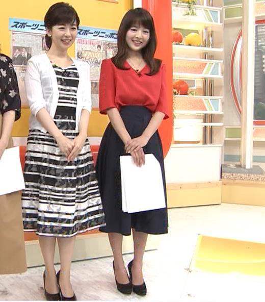 福田成美 お辞儀でいつも胸元チラチラしてるキャプ・エロ画像3