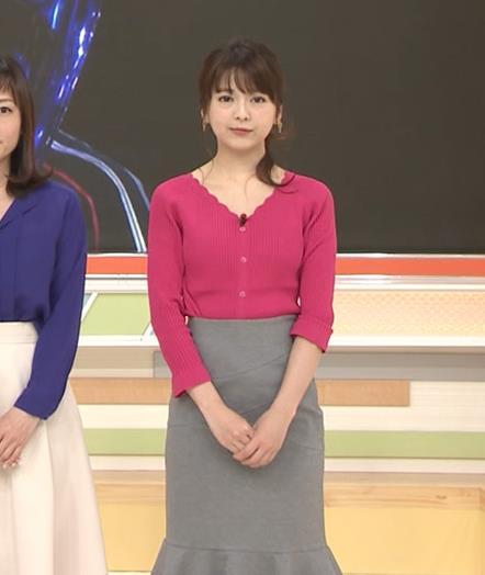 福田成美 セクシーニットおっぱいキャプ・エロ画像2