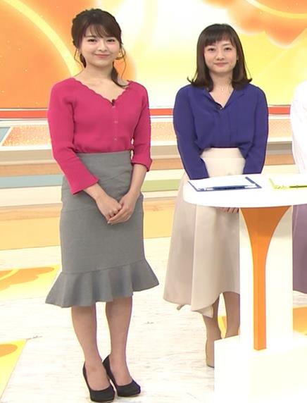 福田成美 セクシーニットおっぱいキャプ・エロ画像5