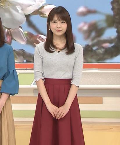 福田成美アナ 柔らかそうなニットおっぱい♡キャプ・エロ画像