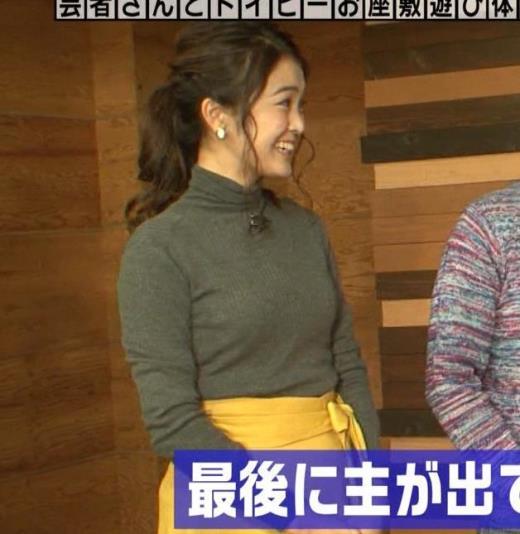 福田典子 「モヤさま」でニットおっぱい♡キャプ画像(エロ・アイコラ画像)