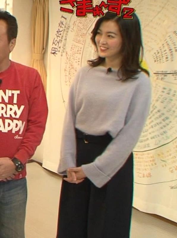 福田典子アナ 胸を触られまくるキャプ・エロ画像2