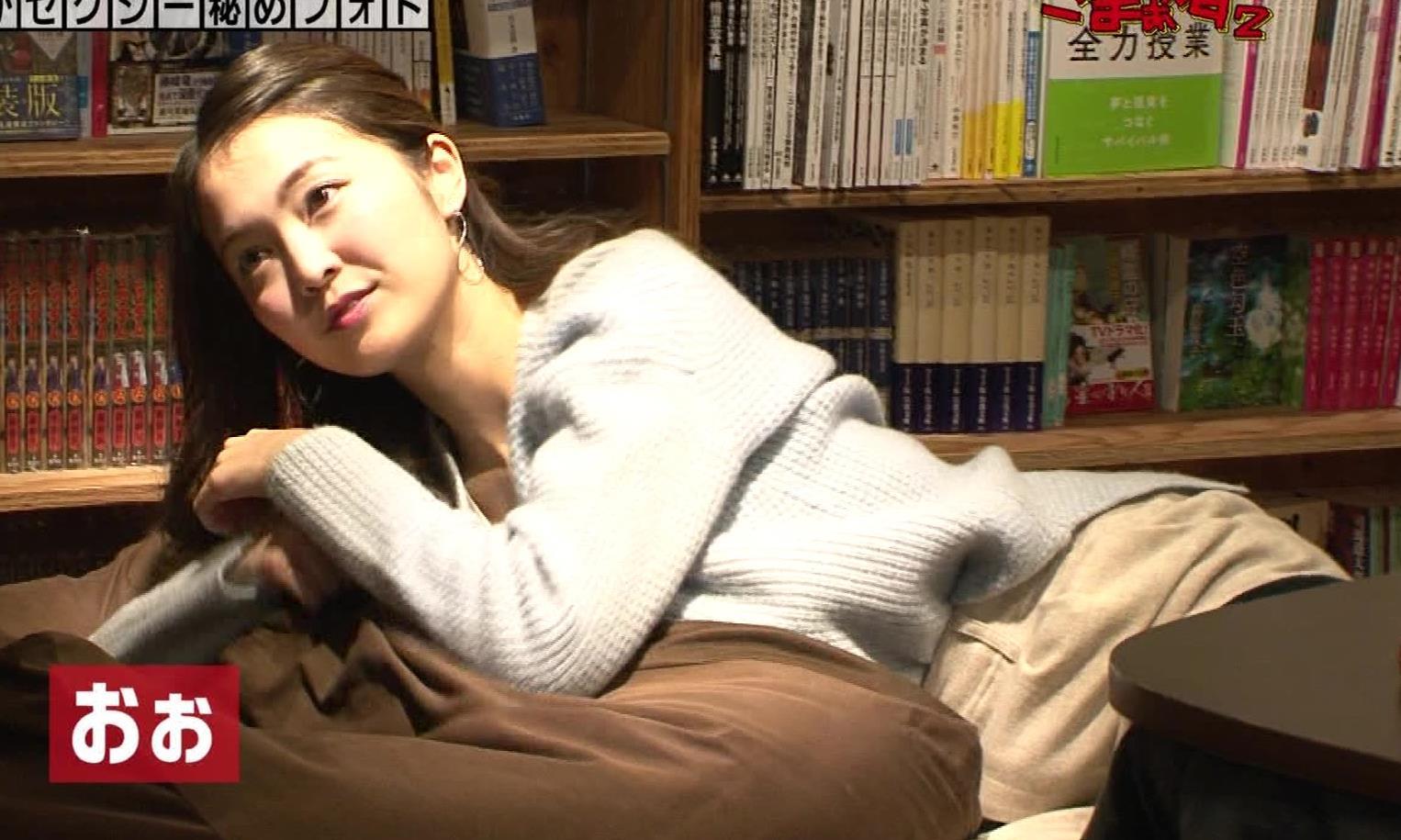 福田典子アナ 「セクシー秘めフォト」って、もはやエロ要員女子アナキャプ・エロ画像11