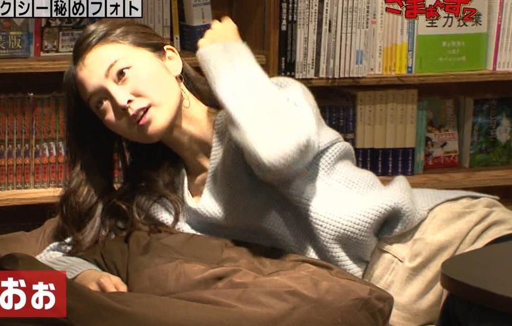 福田典子アナ 「セクシー秘めフォト」って、もはやエロ要員女子アナキャプ・エロ画像4
