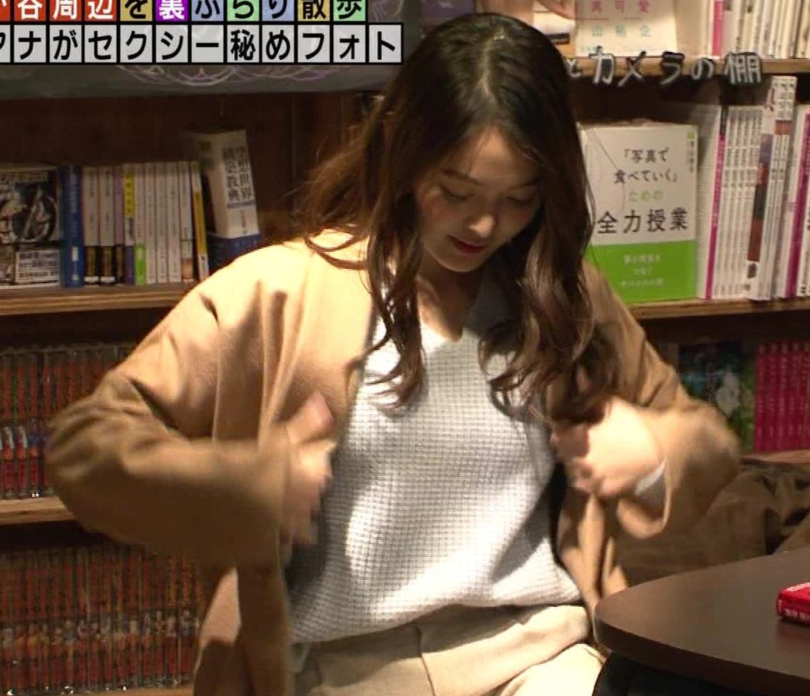 福田典子アナ 「セクシー秘めフォト」って、もはやエロ要員女子アナキャプ・エロ画像5