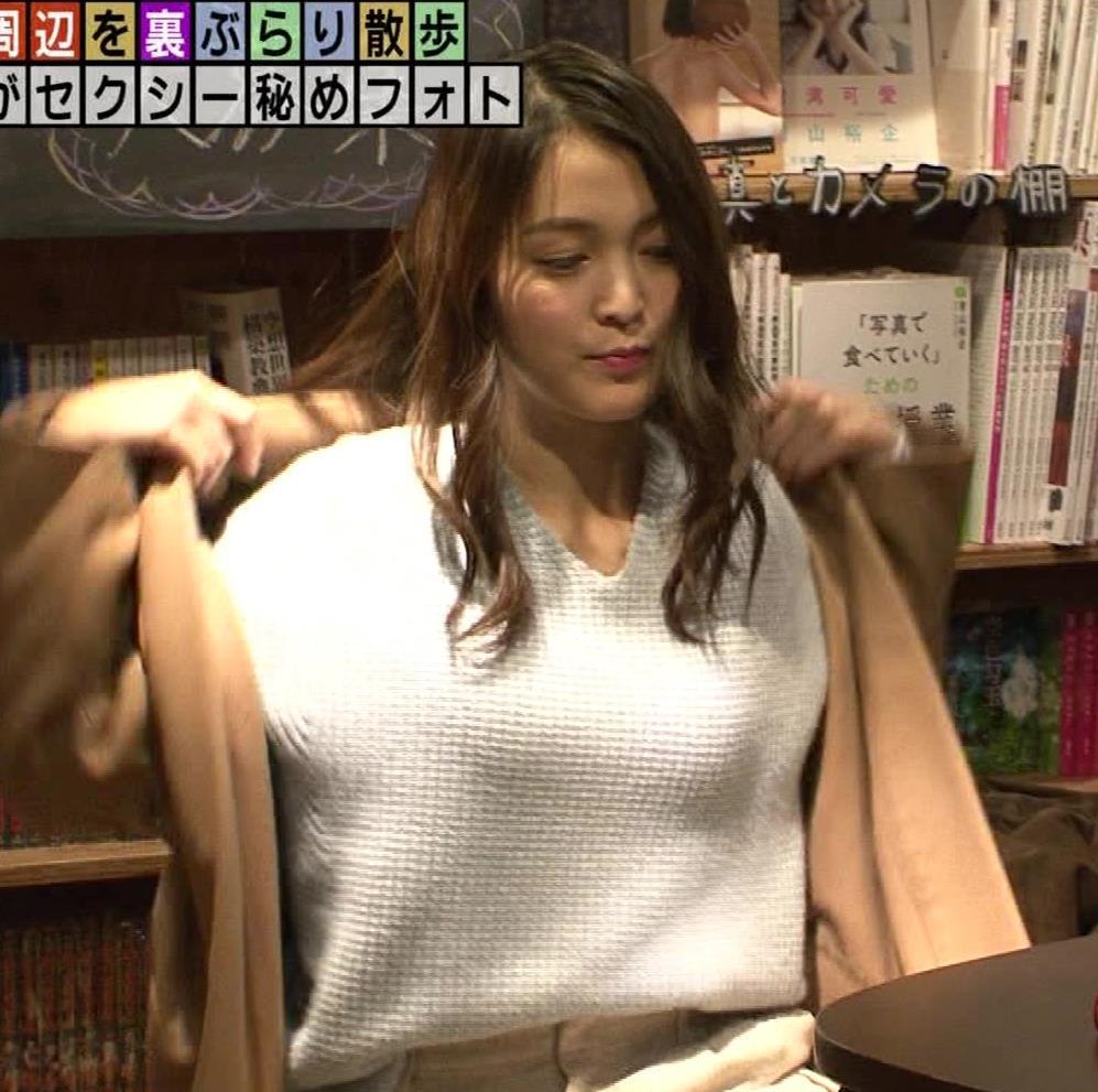 福田典子アナ 「セクシー秘めフォト」って、もはやエロ要員女子アナキャプ・エロ画像6