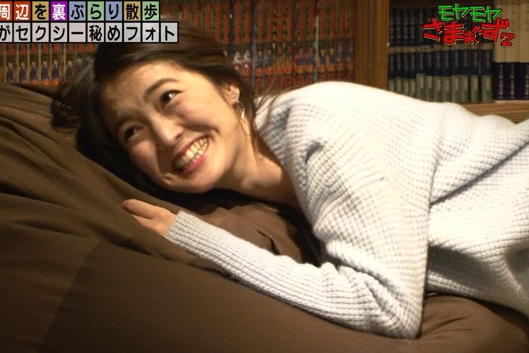 福田典子アナ 「セクシー秘めフォト」って、もはやエロ要員女子アナキャプ・エロ画像8