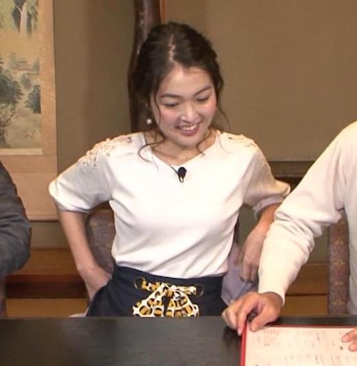 福田典子 おっぱいパッツンキャプ画像(エロ・アイコラ画像)