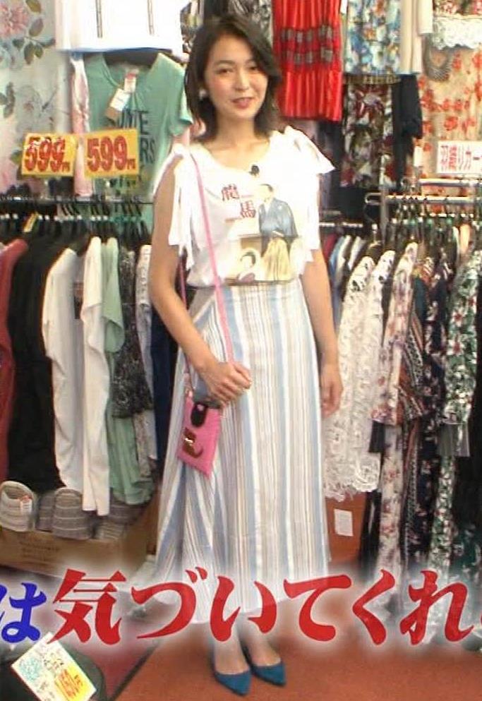 福田典子アナ モヤさまエロ要員のワキ見せキャプ・エロ画像4