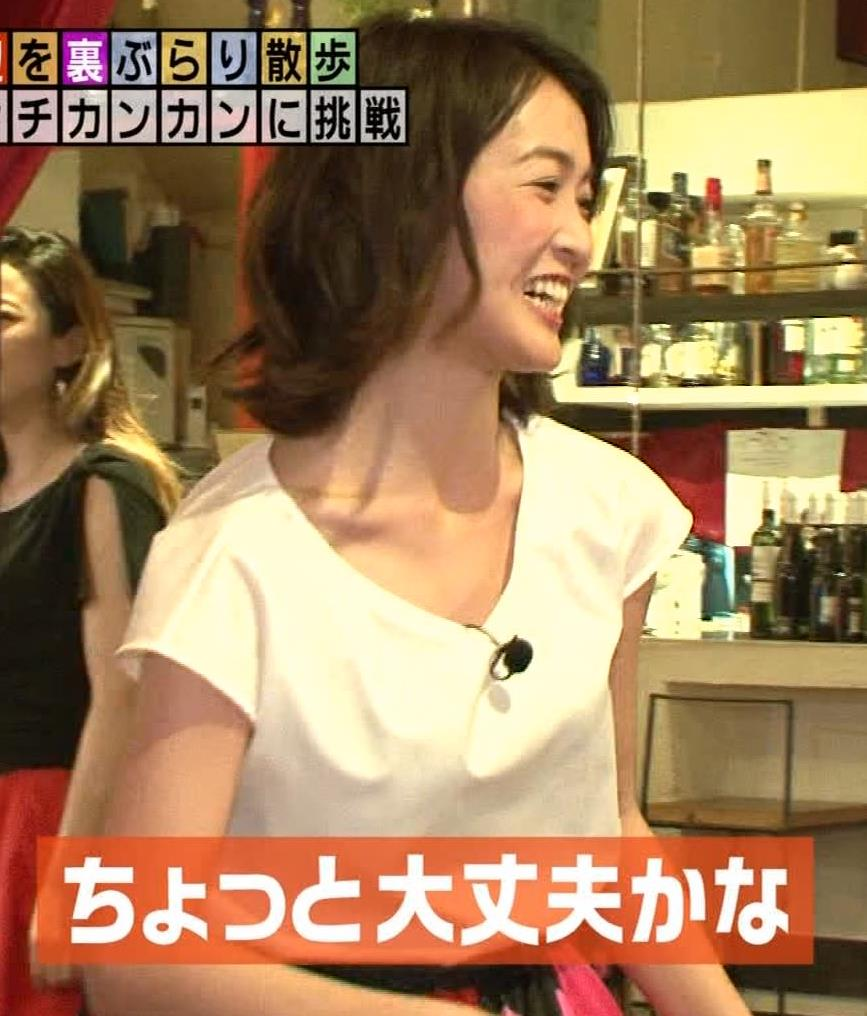 福田典子アナ 毎週のようにエロい事をさせられる番組キャプ・エロ画像3
