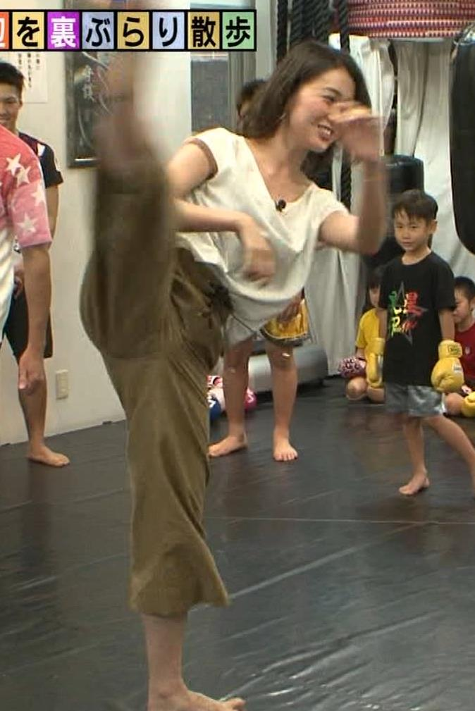 福田典子アナ 毎週のようにエロい事をさせられる番組キャプ・エロ画像7