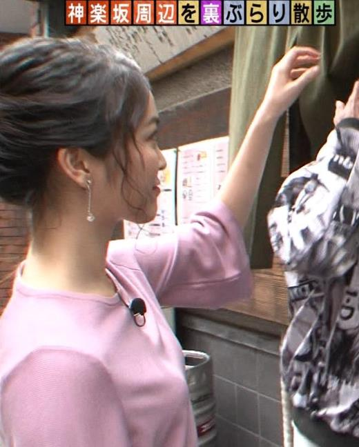 福田典子 横乳アップ画像キャプ画像(エロ・アイコラ画像)
