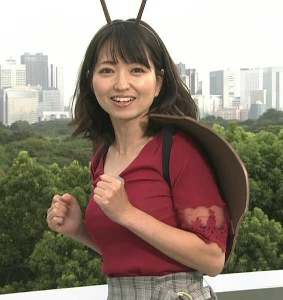 福岡良子 おっぱいピチピチ衣装キャプ・エロ画像3