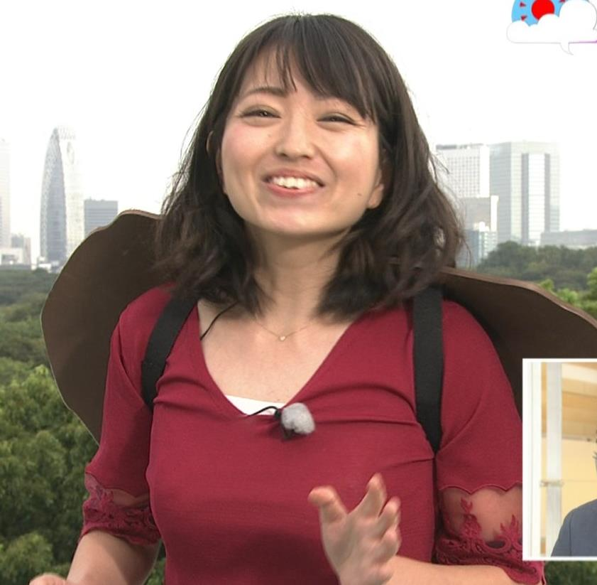 福岡良子 おっぱいピチピチ衣装キャプ・エロ画像4