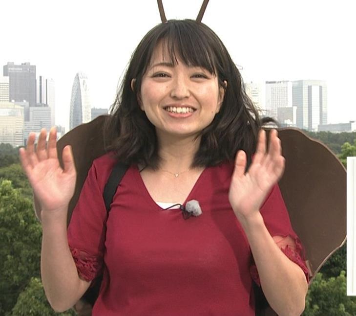 福岡良子 おっぱいピチピチ衣装キャプ・エロ画像5