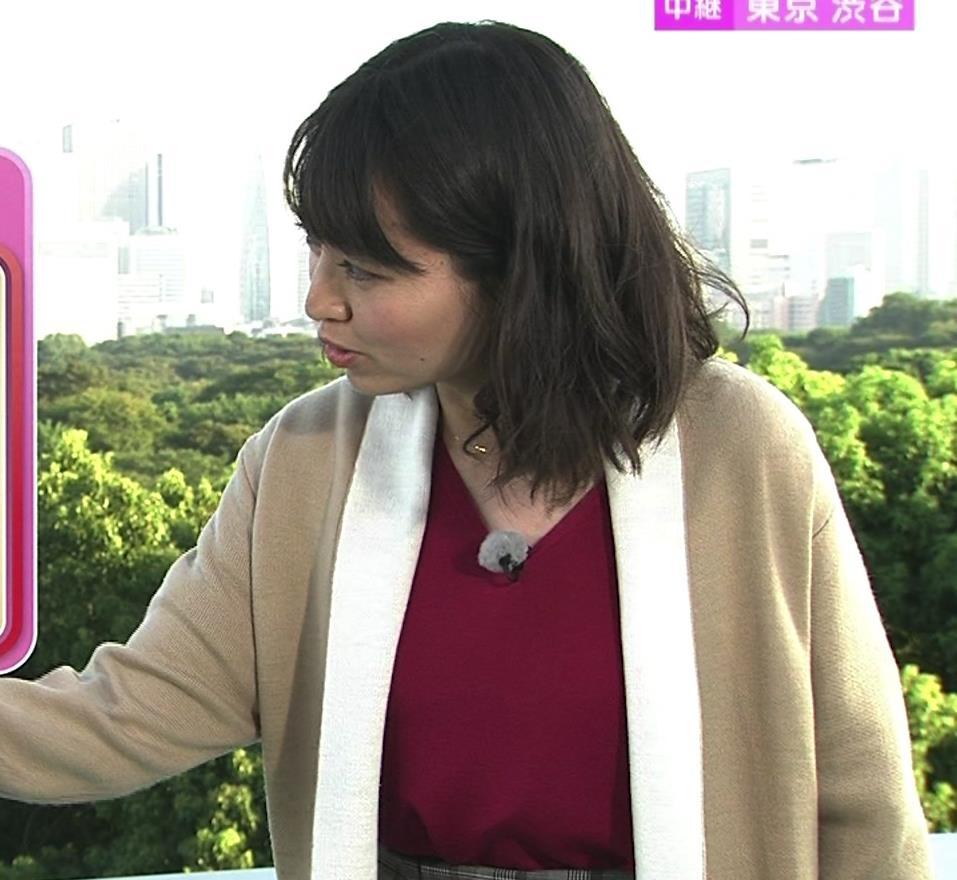 福岡良子 おっぱいピチピチ衣装キャプ・エロ画像7