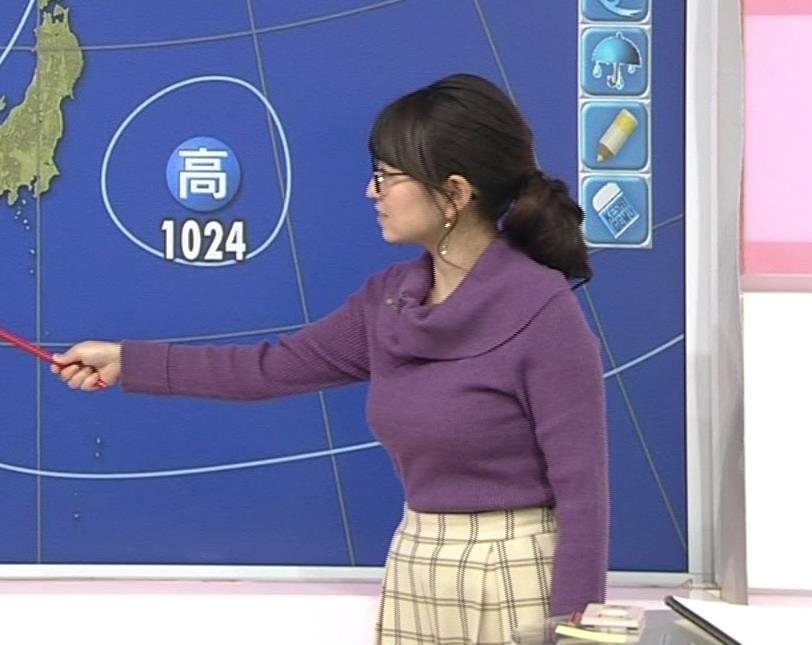 福岡良子 連日巨乳がアピールキャプ・エロ画像2