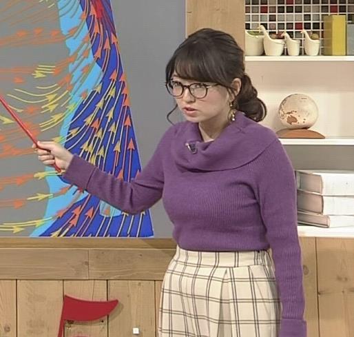 福岡良子 連日巨乳がアピールキャプ・エロ画像11