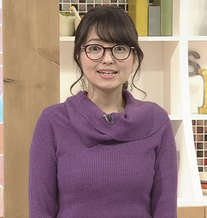 福岡良子 連日巨乳がアピールキャプ・エロ画像12